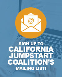 Sign up for California Jump$tart's Mailing List